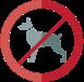 Non adatto ai cani